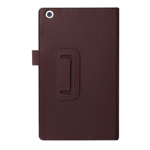 New Tab3 8 Protective Bag Flip PU Leather Book case For Lenovo Tab 3 8 8.0 inch TB3-850F / TB3-850M Tablet PC Litchi Stand Cover