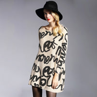 Image of Oversized Womens Sweater Pullover