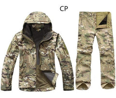 Lurker Shark V4 Soft Shell Military Tactical Jacket Pythons grain Lurker Shark skin Waterproof Windproof Army Clothing