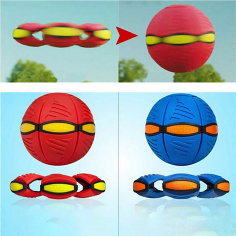 Magic UFO Frisbee ball deformation outdoor, toys children