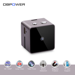 DBPOWER Mini camera HD 1080P Mini Camcorder Action Camera DV Video voice Recorder Micro USB Cameras with Motion Dection TF Slot