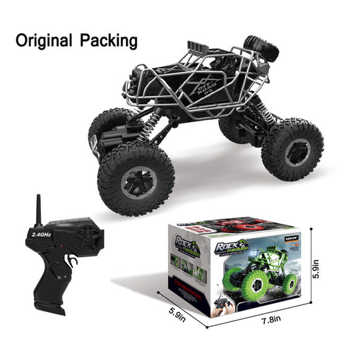 Image of RC Car 2.4G 4CH 4WD Rock Crawlers Climbing Car 4x4 Driving Car Double Motors Bigfoot Cars Remote Control Model Off-Road Vehicle