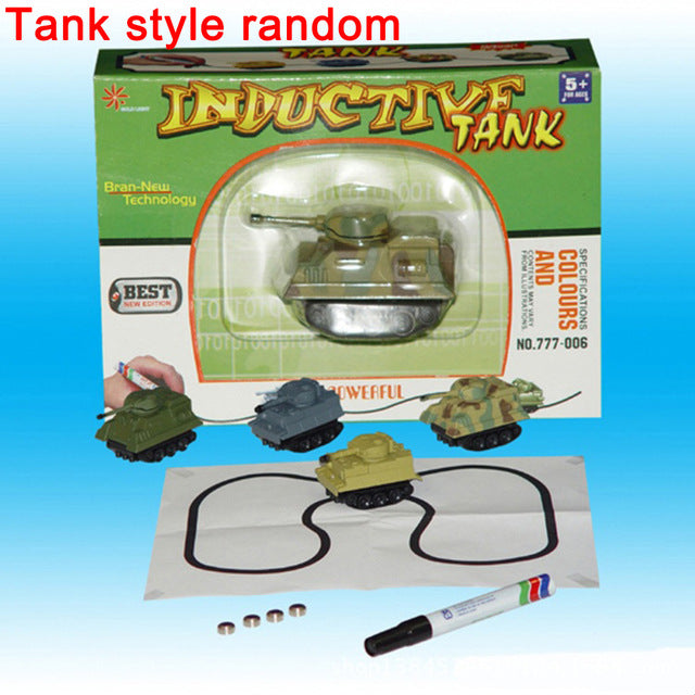 Magic Pen Toy: Tank, Truck, Car - Follow Any Line You Draw - for Kids
