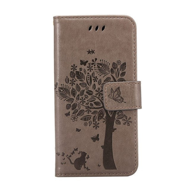Flip PU Leather + Wallet Cover Case For Samsung Galaxy A3 A5 J1 J2 J3 J5 J7 2016 2017 A320 A520 S3 S4 S5 S6 S8 Grand Prime Case