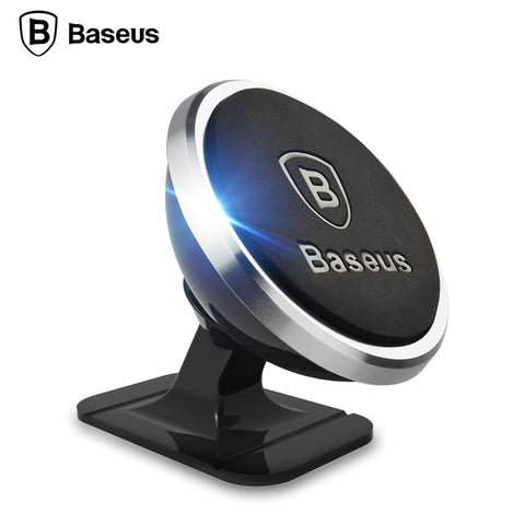 Image of original Baseus Universal Magnetic 360 Degree Rotation Phone Car Holder Magnet mount Holder For iPhone Samsung SmartPhone GPS