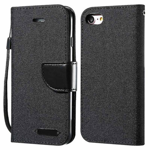 Image of DOEES Luxury Wallet Flip Case For iPhone 6 6S Plus 7 5 5S SE Case X 8 Card Leather Holder Phone Cover For iPhone 7 6 5 S X 10 8