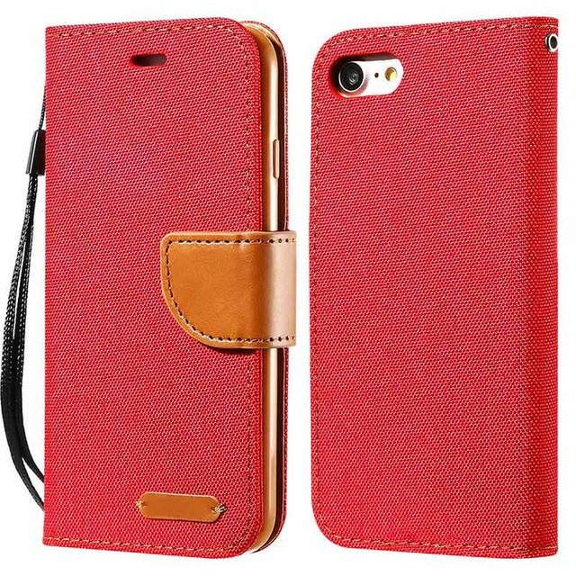 DOEES Luxury Wallet Flip Case For iPhone 6 6S Plus 7 5 5S SE Case X 8 Card Leather Holder Phone Cover For iPhone 7 6 5 S X 10 8