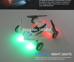 KAINISI X25-1 SY X25 Flying Car 2.4G RC Quadcopter Updated Version Drone 6-Axis 4CH Can Add 2MP HD Camera Helicopter