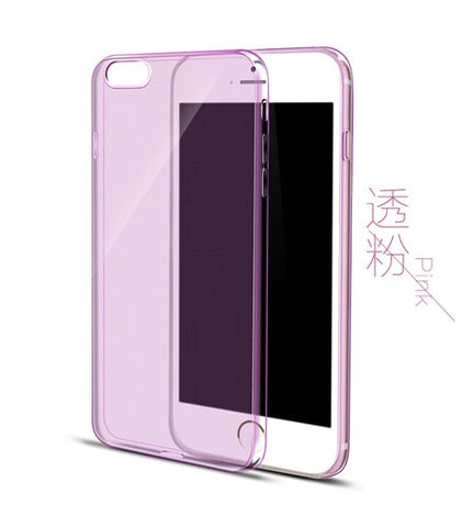 Image of Esamday Clear Silicon Ultra Thin Soft TPU Case For 7 7Plus 8 8Plus X Transparent Phone Case For iPhone 5 5s SE 6 6s 6Plus 6sPlus