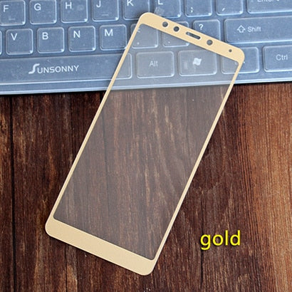For xiaomi redmi 5 glass tempered full cover prime screen protector for xiaomi redmi 5 plus Mobile phone Protective glass film