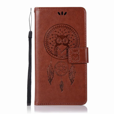 Image of Leather Wallet Case For Xiaomi Redmi Note 4 Case Flip Cover For Xiaomi Redmi Note 5A Phone Case Xiaomi Redmi 4 4X 4A 5A Cases