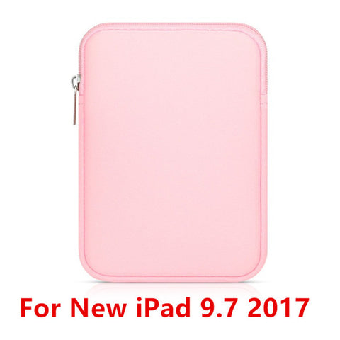 Image of Tablet Liner Sleeve Pouch Bag for New iPad 9.7 inch 2017 Soft Tablet Cover Case for iPad Air 2/1 Pro 9.7 Funda Bag for iPad Mini