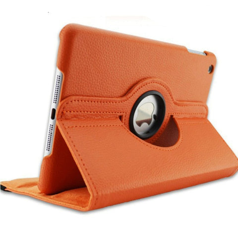 Image of 360 Degrees Rotating PU Leather Flip Cover Case for iPad 2 3 4 Case Stand Cases Smart Tablet A1395 A1396 A1416 A1430 A1458 A1460
