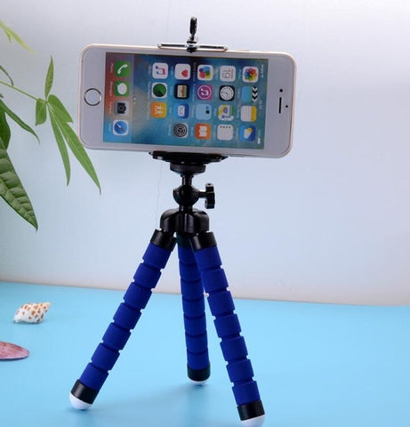 Image of Phone Holder Flexible Octopus Tripod Bracket Selfie Expanding Stand Mount Monopod Styling Accessories For Mobile Phone Camera