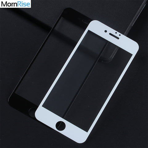0.26mm Full Screen Tempered Glass Film For iPhone 7 Screen 6 6S X 8 Plus Safety Guard 9H