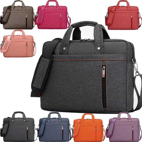 Image of Burnur 12 13 14 15 15.6 17 17.3 Inch Waterproof Computer Laptop Notebook Tablet Bag Bags Case Messenger Shoulder for Men Women