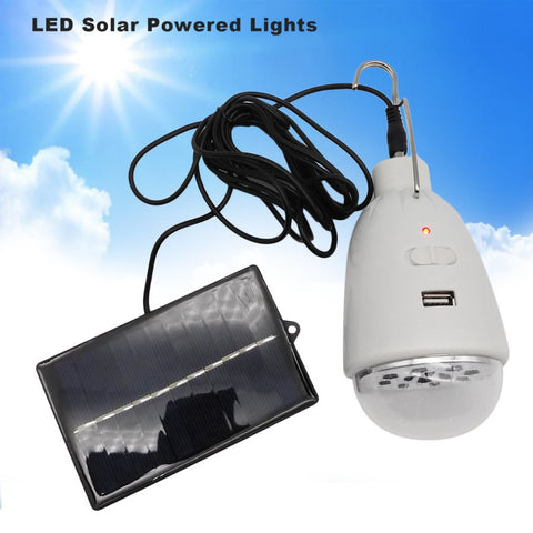 3W 400LM Mini Portable Household Solar Lamp Outdoor Camping Lamp With Hook Travelling Emergency Lamp Rechargeable  Lamp