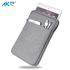 Shockproof Tablet Sleeve Pouch Case for iPad 2017 mini 2 3 4 iPad Air 1/2  Pro 9.7 inch Cover thick AKR 2018
