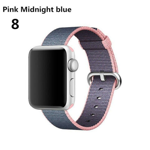 sport Woven Nylon For Apple Watch band Strap 42mm 38mm iwatch series 3 2 1 wrist bands bracelet & fabric watchband belt