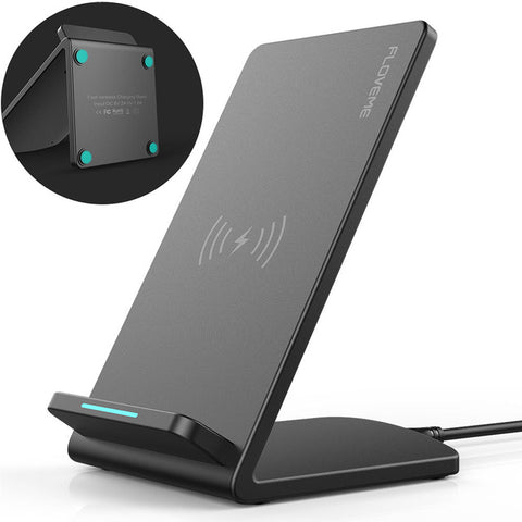 Image of FLOVEME Universal Qi Fast Wireless Charger For iPhone X 10 8 Plus Charger USB 10W Power Charging For Samsung Galaxy S8 S9 Note 8