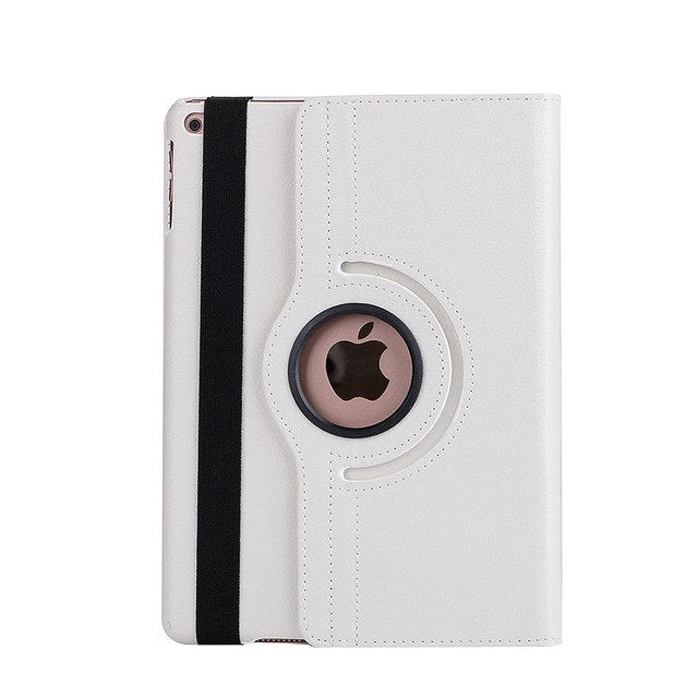 360 Degree Rotating Case For Apple New iPad 9.7 Tablet A1822 A1893 Stand Shell+Stylus+film