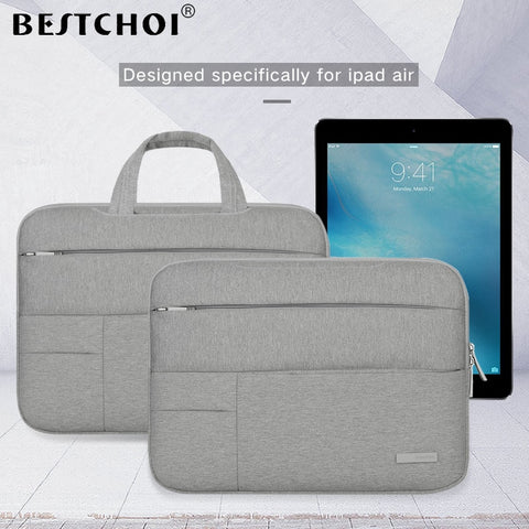 Image of 2018 BESTCHOI Tablet Bag Sleeve Case for Apple iPad Pro 9.7 10.5 12.9 Universal Case Shockproof Pouch Bag for iPad Air 1 2 Case