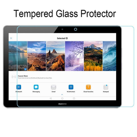 "Image of Screen Protector Tempered Glass for huawei mediapad t3 10 AGS-L09 AGS-L03 9.6"" Tablet Screen Glass cover film for huawei t3 10"