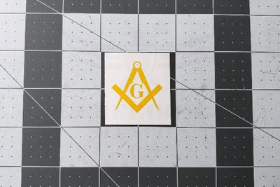 Freemasons Symbol Stencil by Montactical