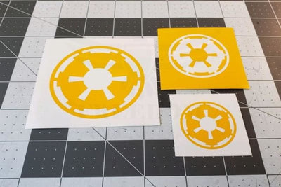 Star Wars Stencils for Cerakote and DuraCoat