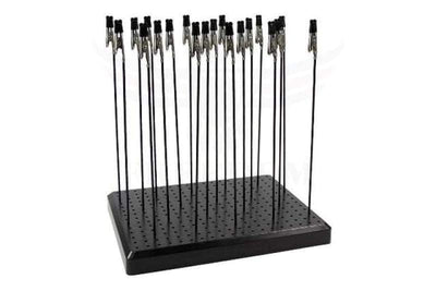 Evemodel Gjjc19B Painting Stand Base 14 X 19 Holes And 20Pcs Alligator Clip Stick Set Modeling Tools