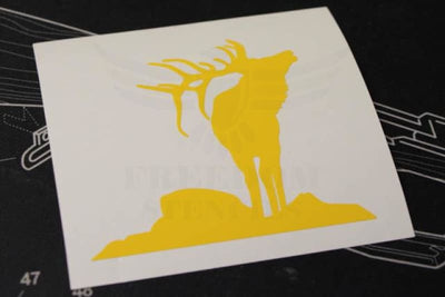 Elk Stencil from Freedom Stencils