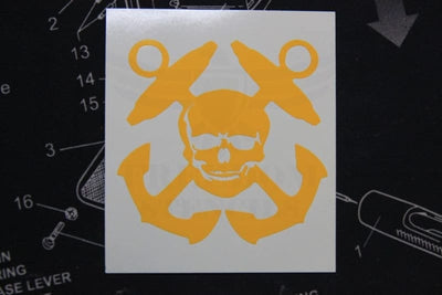 Navy Boatswains Mate Stencil for Cerakote and DuraCoat