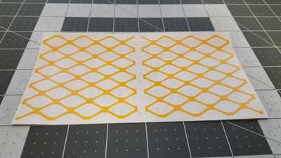 Stippling Diamond Pattern Stencil from Freedom Stencils