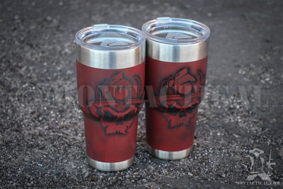 Tumbler Cup Custom Paint by Montactical