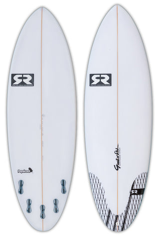 Gunther rohn popsicool small wave custom made surfboard