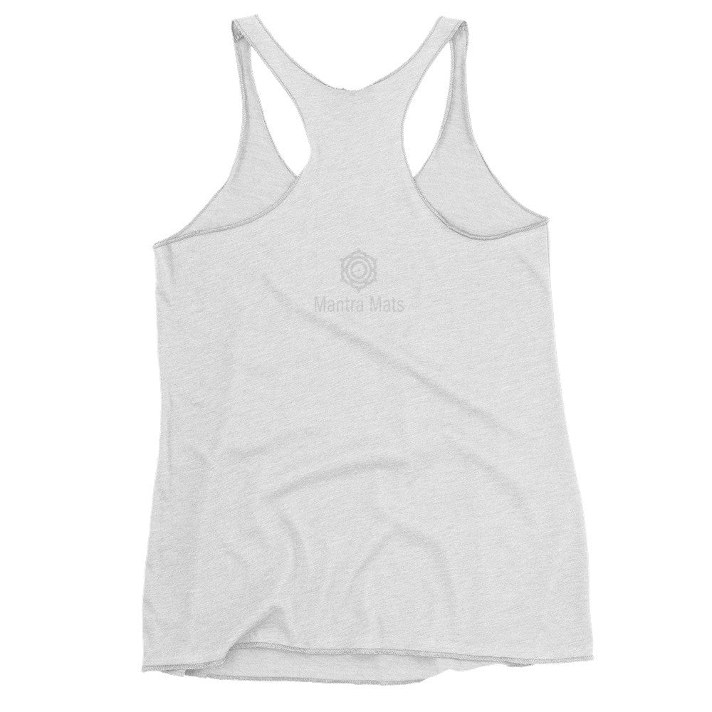 """Namaslay"" Tank Top in Gray"