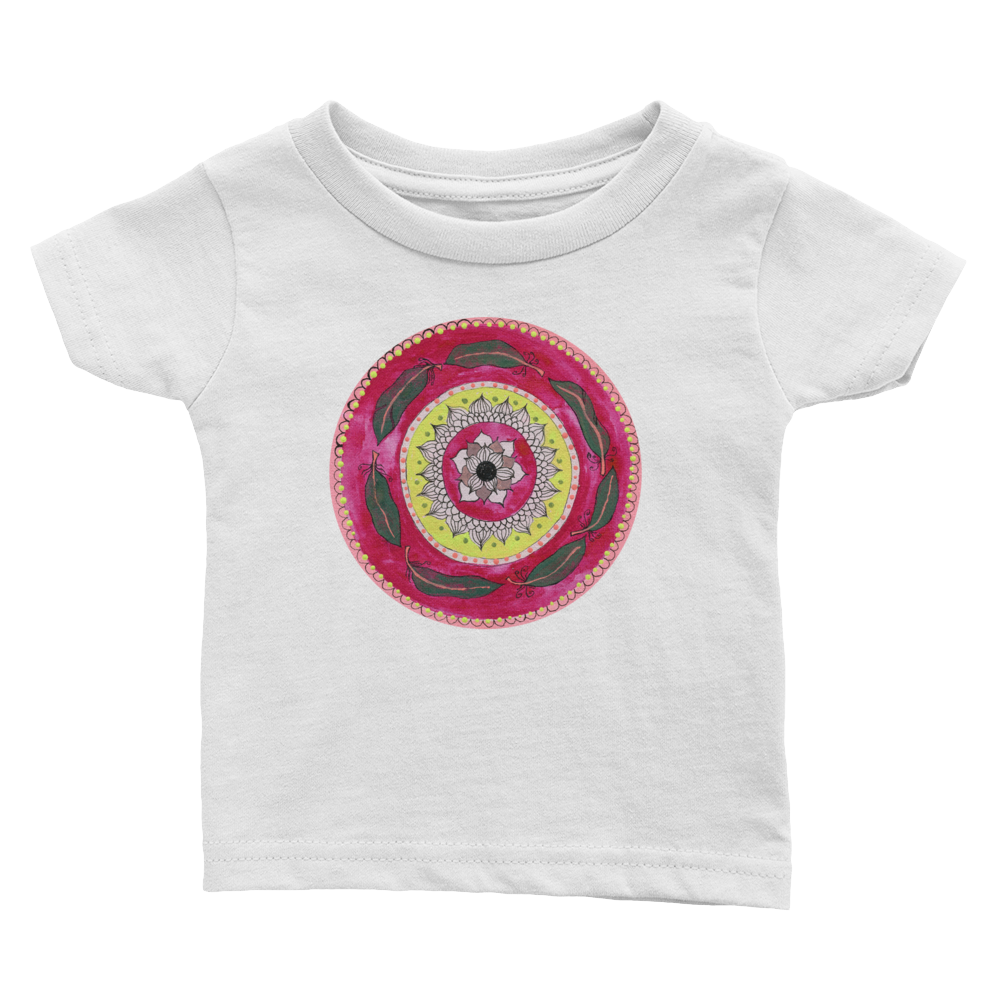 Flower Mandala Infant T-shirt