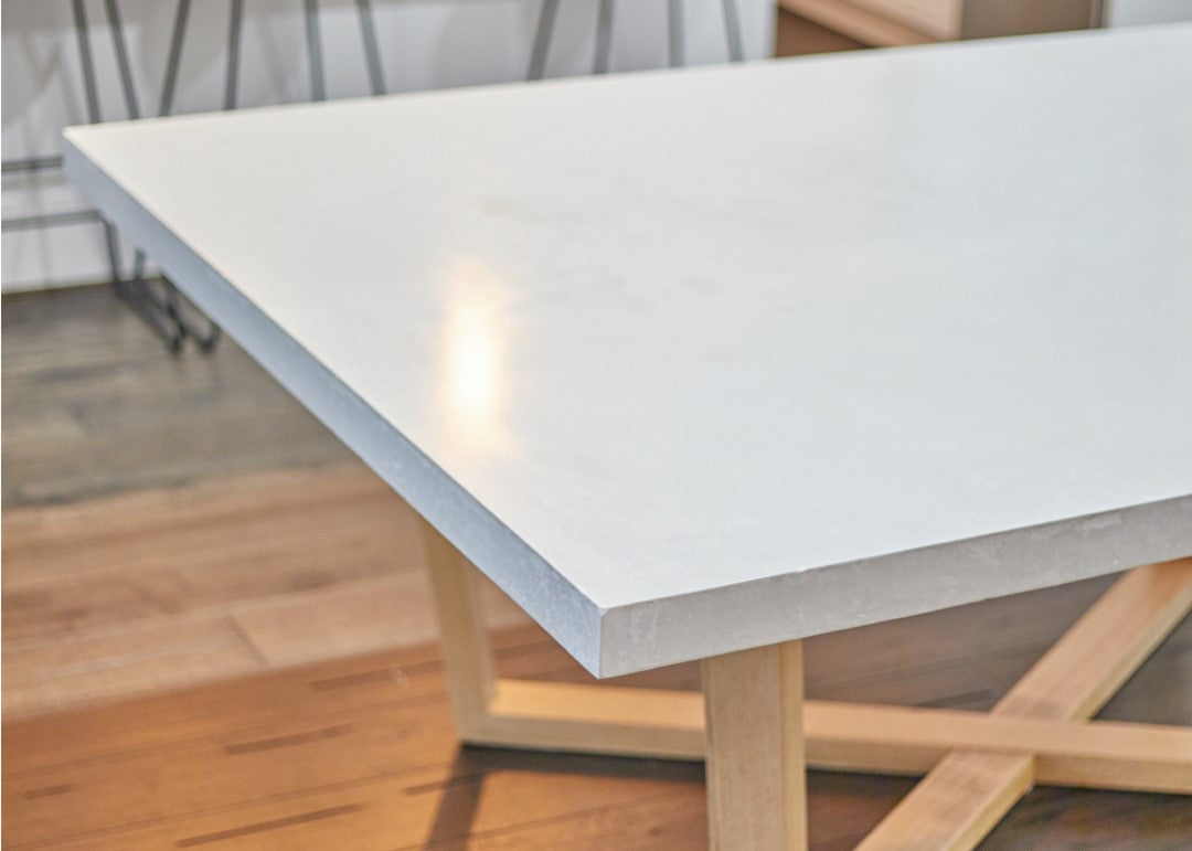 Vallee Dining - XOX Concrete Dining Table (10 Seater)