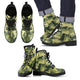 Cat Camouflage Leather Boots