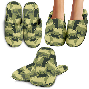 Cat Camouflage Slippers