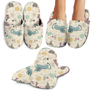 Lovely Cats Slippers
