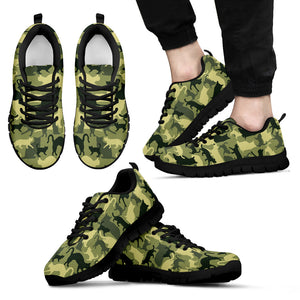 Cat Camouflage Sneakers Limited Edition