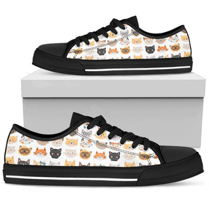 Cat Faces Shoes Limited Edition