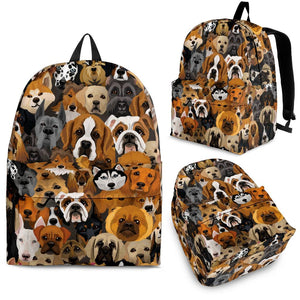 Cute Dogs Backpack Limited Edition