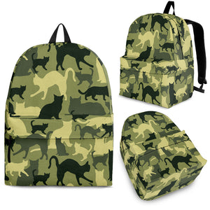 Cat Camouflage Backpack Limited Edition