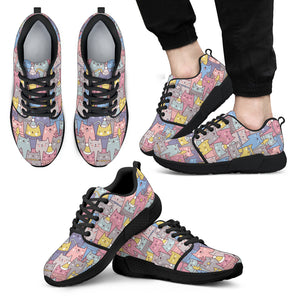 Cute Cats Athletic Sneakers