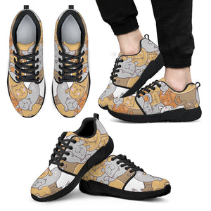 Sleep Cats Athletic Sneakers