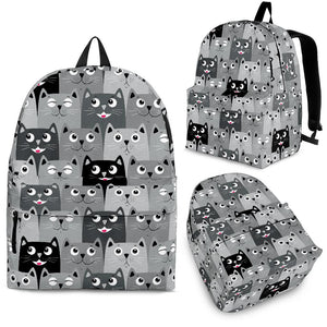 Cats Faces Backpack Limited Edition