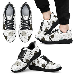 Space Cats Athletic Sneakers