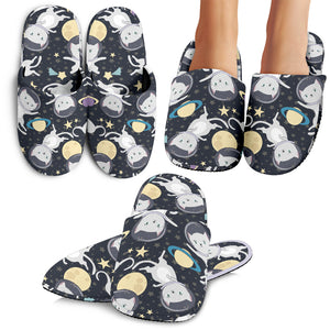 Space Cats Slippers